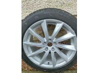 "Jaguar XF 18"" wheels & tyres"