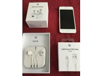 Pink 64GB 5th Gen Apple iPod with brand new EarPods, Lightning Cable & Charger