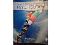 Textbook - Research Methods and Statistics in Psychology