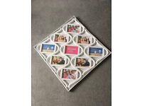 Brand new, unopened collage (4x6 ins) photo frame - total size (excl packaging) 55cm sq (21.5 ins)
