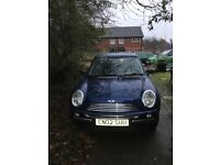 Mini One full service history, long MOT, perfect condition, lady owner selling as need a bigger car.