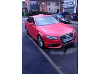 Hello, I am selling Audi A4 S-Line Red sports Edition 2.0 TDi 140 6-Speed Manual Diesel 2008 B8