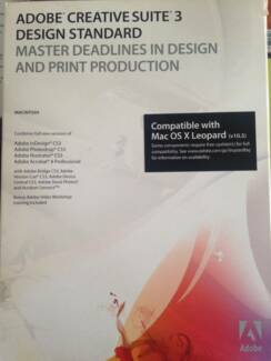 Adobe Creative Suite 3 Design Standard P/N: ****0106 STDS CS3 MAC