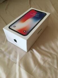 Brand New Apple Iphone X 64GB Space Grey