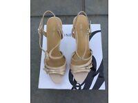 825737d797b Nine West Nude High Heel Shoes Size 8