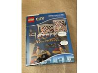 Lego City Single duvet cover with pillow cover