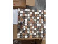 Mosaic sheets new tile still wrapped