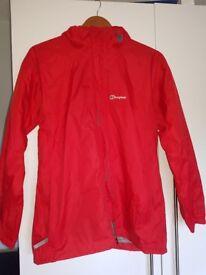 Red Berghaus Coat