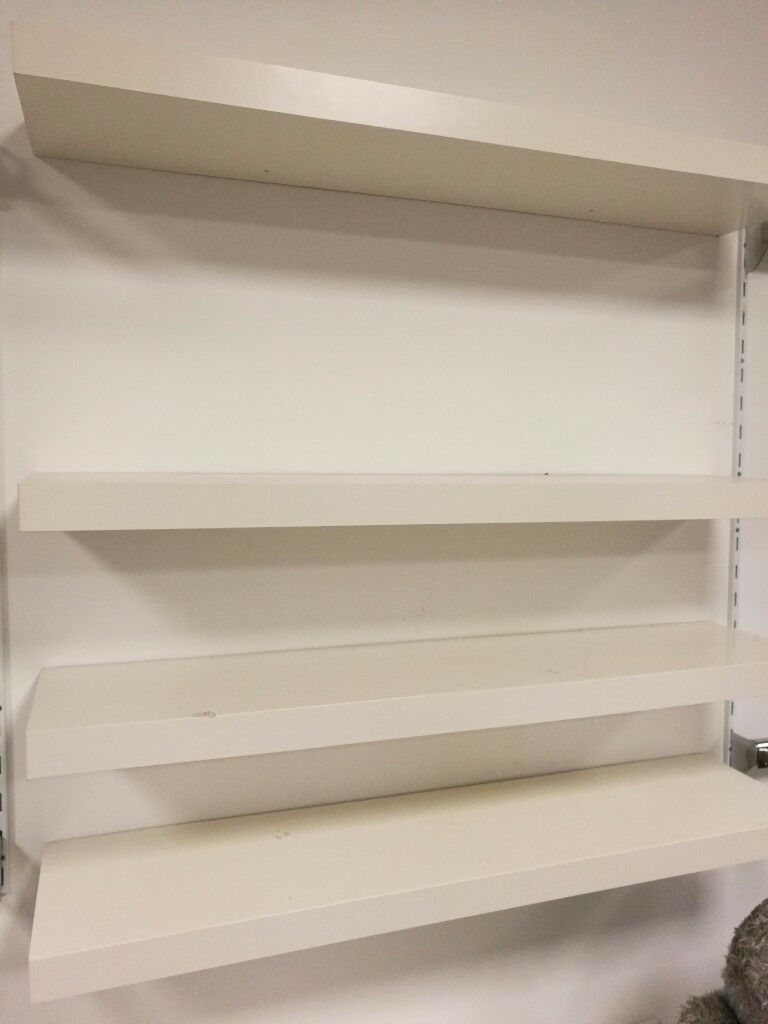 Ikea floating shelves - large and small