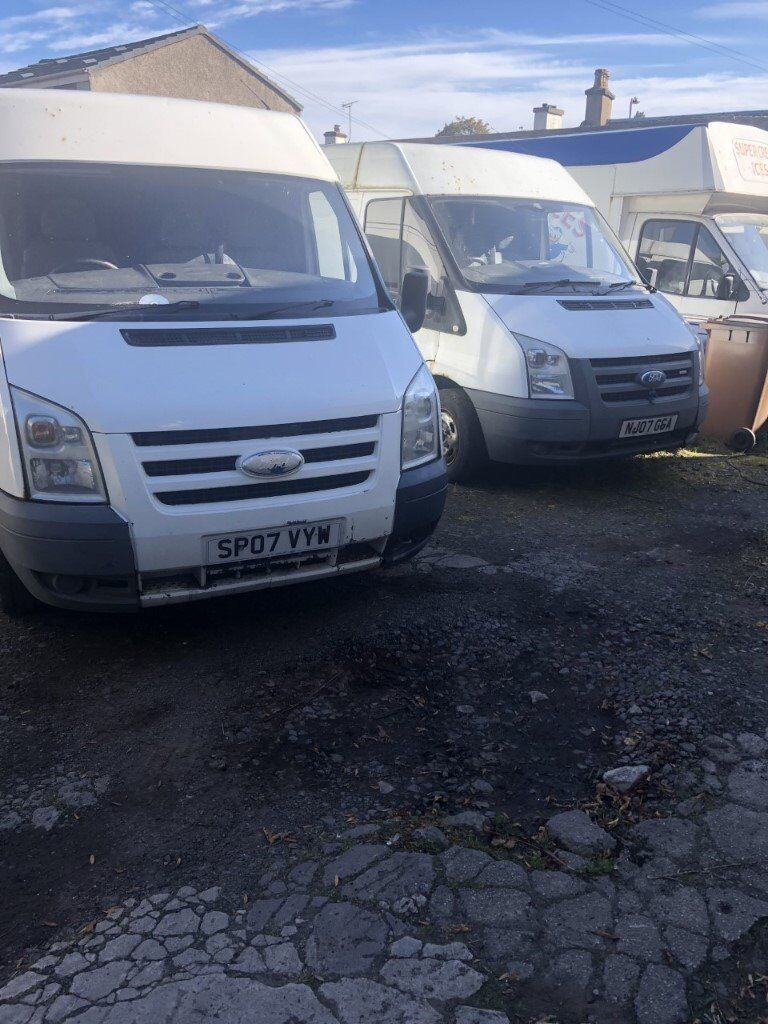 7caff8340f ford transits spares or repair
