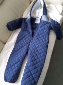 Next Boys Snow Suit Age 3-4