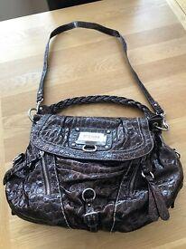Guess handbag - burgundy