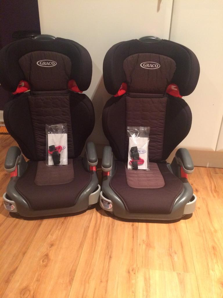 Graco High back Booster Seats