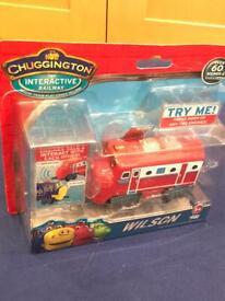 Chuggington Wilson toy train