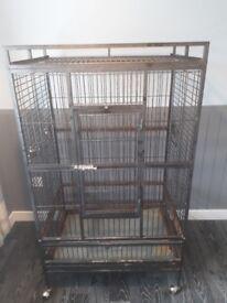 Large cage , parrot,chinchilla etc