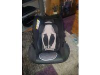 Brand new unused car seat