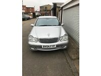 mercedes c270 cdi full lether, air condition, service history, cruise control, radio cd