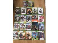 Xbox 360 and 22 games