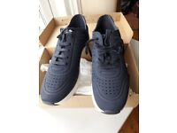 Navy Trainers Next Size 9