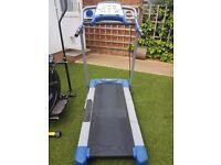 Great condition gym equipment. York fitness bike and York fitness running/walking machine plus.