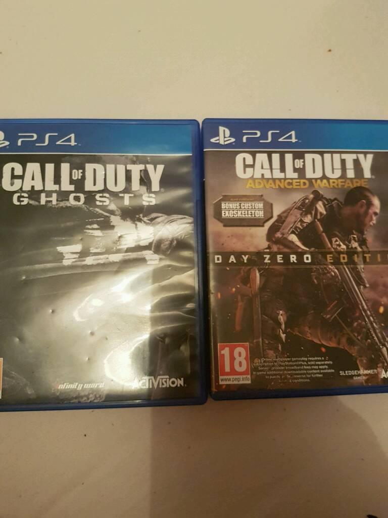 Call Of Duty Ghosts & Call of Duty Warfare