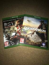 Tom Clancy's Ghost recon and A.O.T wings of freedom