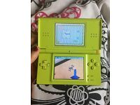 Nintendo ds light and games