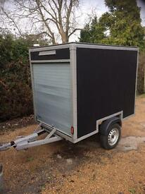Dual roller shutter Box Trailer / Tow Van in Perfect working condition