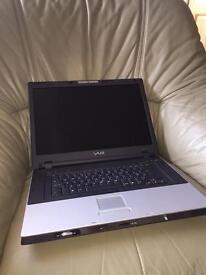 "Mint condition 17"" Windows 7 Sony Vaio laptop"