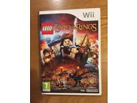 Lego Lord of the rings Wii game.