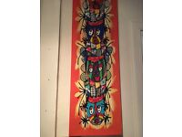 Totem pole canvas painting