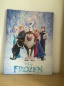 Frozen canvass print