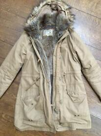 Next nearly new ladies Parka coat