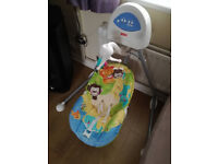 **BABY CRADLE SWING** FISHER PRICE