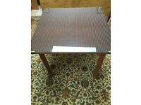 Lloyd Loom Table 90cm square suitable for Dining/Kitchen/Conservatory