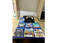 PlayStation 4 Console Bundle With Games Controller Great Condition