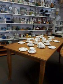 John Lewis Pine table