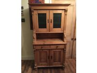 Antique pine Victorian dresser/ sideboard
