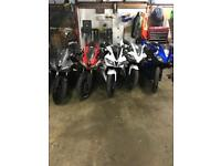 Yamaha Yzf r125 breakers Delivery 📦