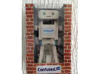 Brian the robot from Confused