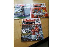 Manchester United Football Magazines
