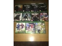 Xbox one and Xbox 360 Games.