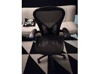Herman Miller Aeron Black - size B
