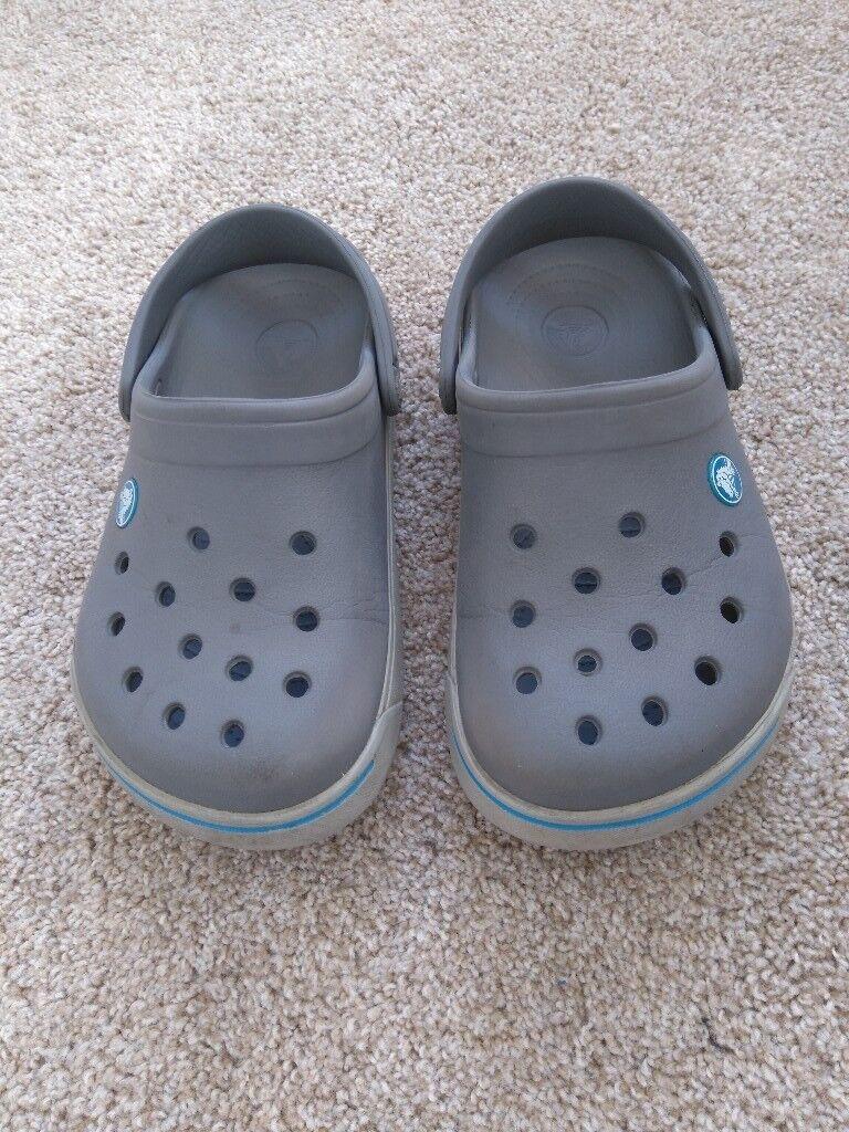 CROCS - grey, size 2