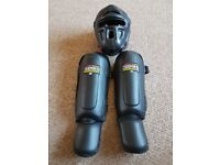 Blitz head and shin guards