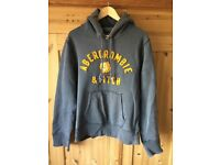 Abercrombie & fitch men's grey hoody XL