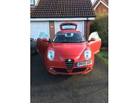 Alfa Romeo mito lusso - low mileage - 2 lady keepers