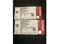Taylor Swift - Wembley Staidum - 2 Tickets seated together on THE FLOOR