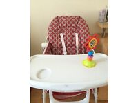 Chicco high chair for sale !