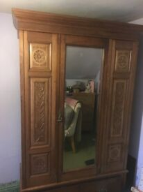 Gorgeous Old Pine Wardrobe